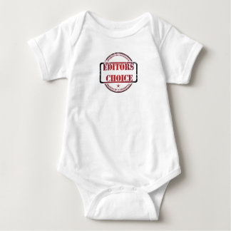 Editors choice limited edition apparel baby bodysuit