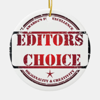 Editors choice products ceramic ornament