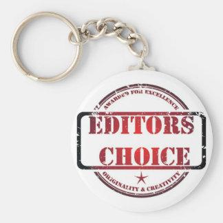 Editors choice products keychain