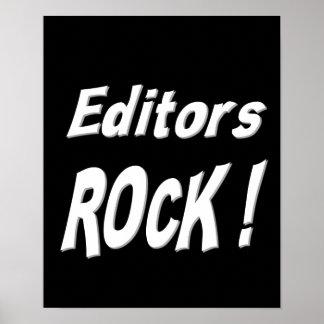 Editors Rock! Poster Print