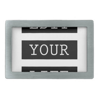 EditYourLife Rectangular Belt Buckle