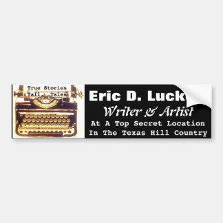 EDL Typewriter Bumper Sticker EDL062515007 Car Bumper Sticker