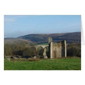 """""""Edlingham Castle"""" Card"""