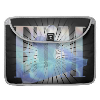 EDM ELECTRIC BLUE SEAMLESS DESIGN SLEEVE FOR MacBook PRO