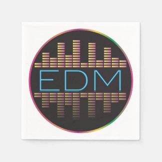 EDM Equalizer Napkins