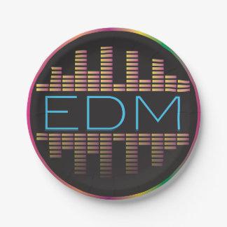 EDM Equalizer Paper Plates