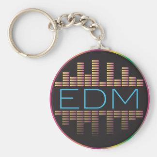 EDM Equalizer Reflection Keychain