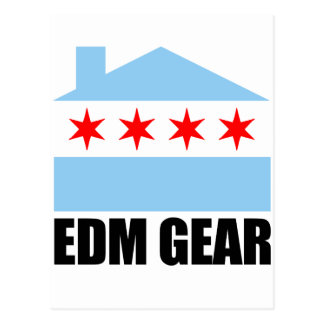 EDM Gear Logo Postcard