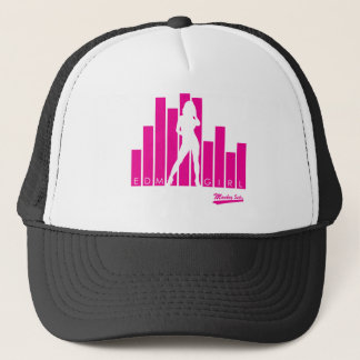 EDM Girl Pink Trucker Hat