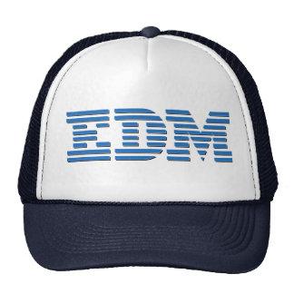EDM - IBM parodia el diseño para los amantes de ED Gorras De Camionero