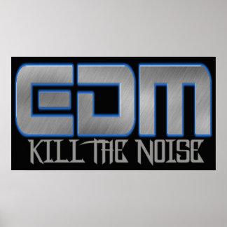 EDM KILL THE NOISE POSTERS