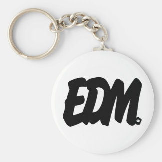 EDM Letters Keychains