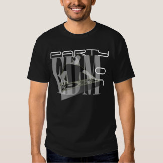 EDM PARTY ON T SHIRT