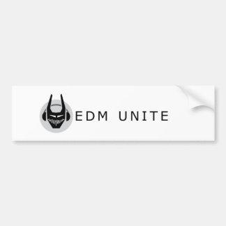EDM unen a la pegatina para el parachoques Pegatina Para Auto
