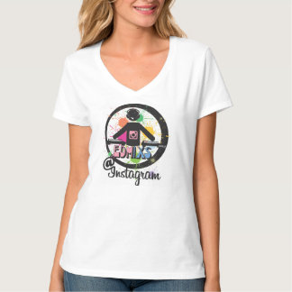 EDMixs Rave Girl Tee Shirt