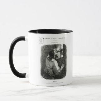Edmond Dantes imprisoned in the Chateau d'If Mug