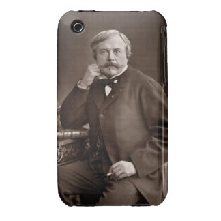 Edmond de Goncourt (1822-96) from 'Galerie Contemp iPhone 3 Case