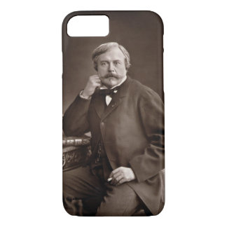 Edmond de Goncourt (1822-96) from 'Galerie Contemp iPhone 7 Case
