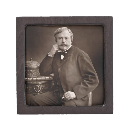 Edmond de Goncourt (1822-96) from 'Galerie Contemp Jewelry Box