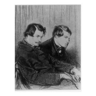 Edmond de Goncourt  and Jules de Goncourt Postcard