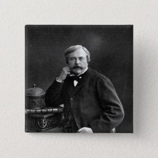 Edmond de Goncourt Button