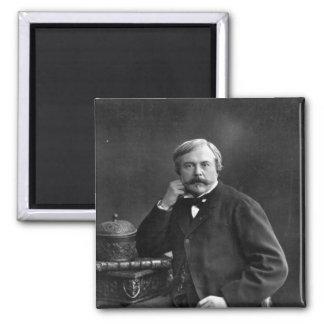 Edmond de Goncourt Imán Cuadrado