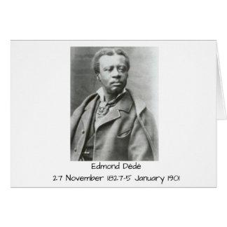 Edmond Dédé Card