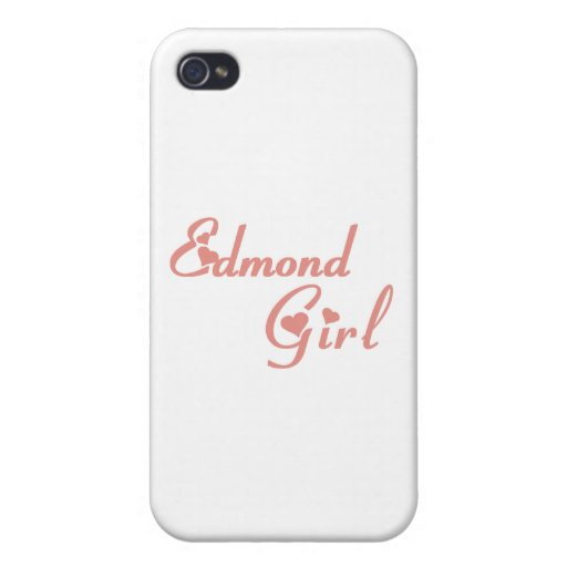 Edmond Girl tee shirts iPhone 4/4S Cases