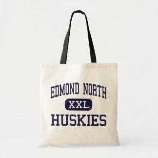 Edmond North - Huskies - High - Edmond Oklahoma Budget Tote Bag