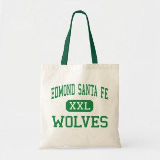 Edmond Santa Fe - Wolves - High - Edmond Oklahoma Budget Tote Bag