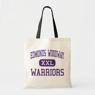 Edmonds Woodway - Warriors - High - Edmonds Budget Tote Bag