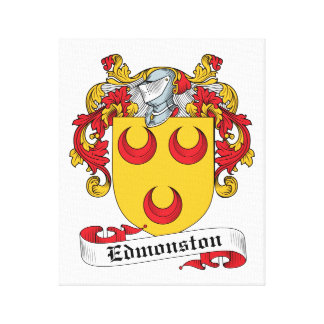 Edmonston Family Crest Gallery Wrapped Canvas