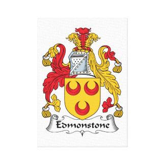 Edmonstone Family Crest Canvas Prints