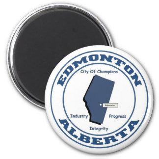 Edmonto Alberta 2 Inch Round Magnet