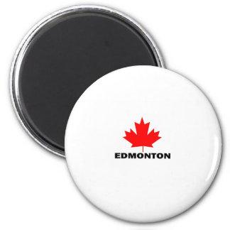 Edmonton, Alberta 2 Inch Round Magnet