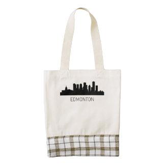 Edmonton Alberta Cityscape Zazzle HEART Tote Bag