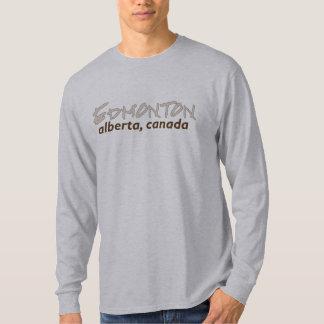 edmonton alberta long sleeve T-Shirt