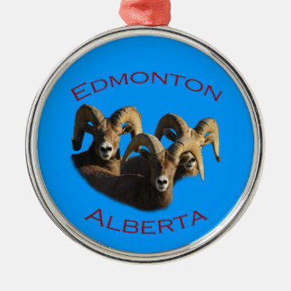 Edmonton, Alberta Metal Ornament
