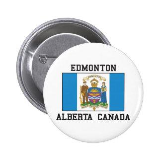 Edmonton Alberta Pinback Button