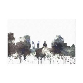 Edmonton Alta. Skyline-CRISP Canvas Print