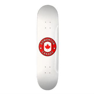 Edmonton Canada Skateboard Deck