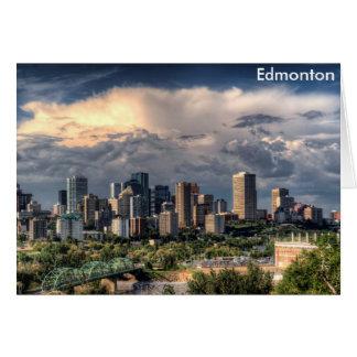 Edmonton, Canada skyline Card