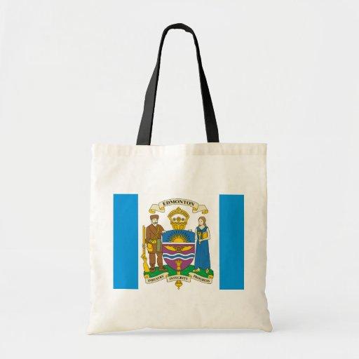 Edmonton, Canada Tote Bags