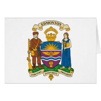 Edmonton Coat of Arms Greeting Card