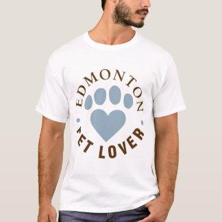 Edmonton Pet Love Male Basic T-Shirt