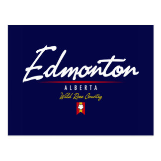 Edmonton Script Postcard