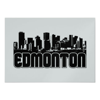 Edmonton Skyline Card