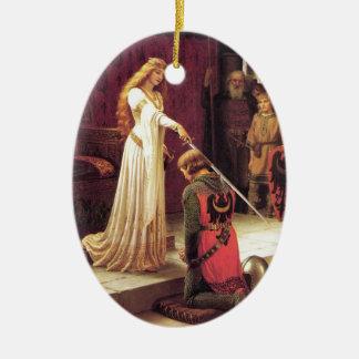 Edmund Blair Leighton: The Accolade Ornament