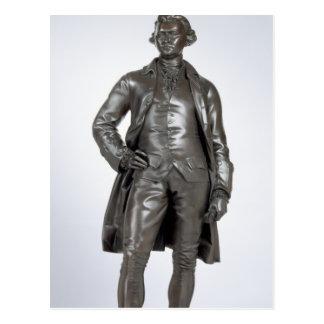 Edmund Burke (1729-97) 1865 (bronce) Tarjetas Postales