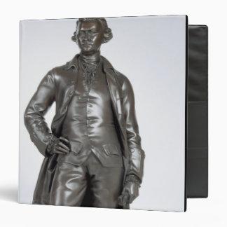 Edmund Burke (1729-97) 1865 (bronze) 3 Ring Binder